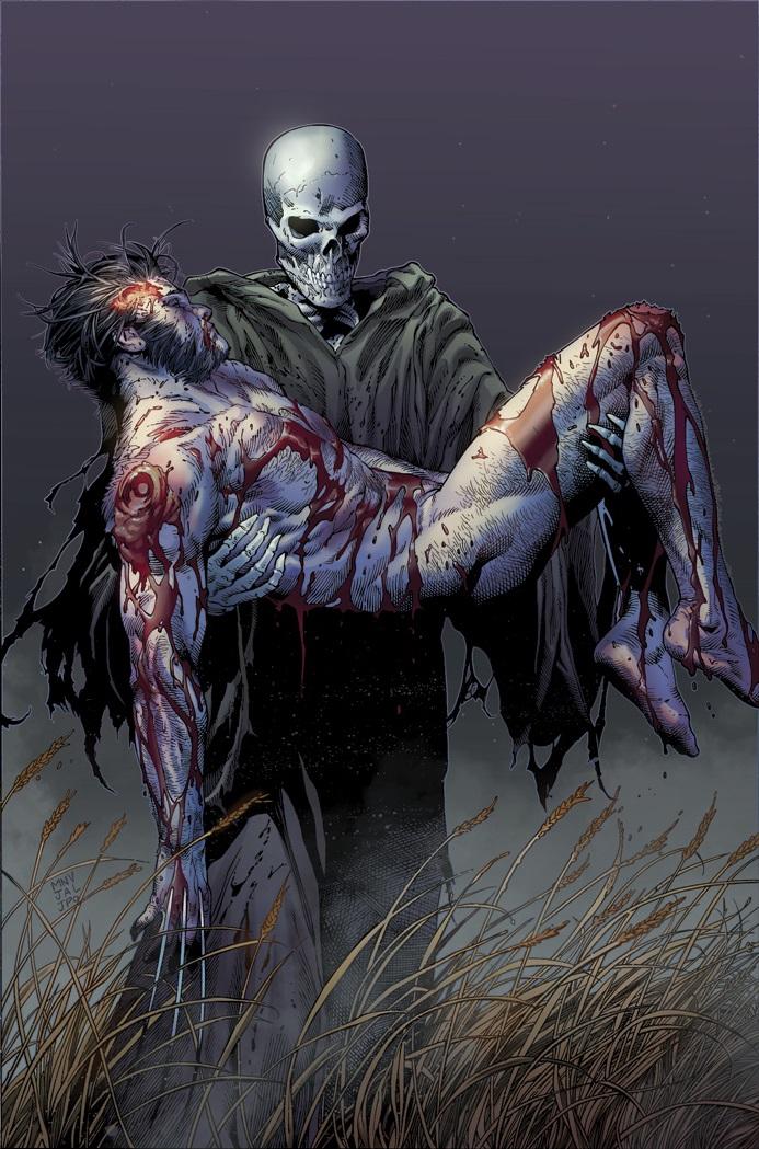 Death of Wolverine #4, copertina di Steve McNiven