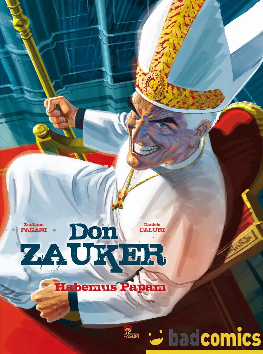 Don Zauker Habemus Papam - cover di Daniele Caluri