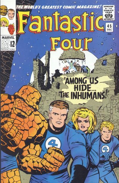 Fantastic Four 45