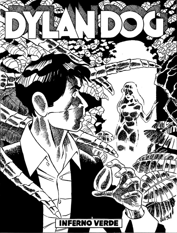 Leo Ortolani disegna Dylan Dog