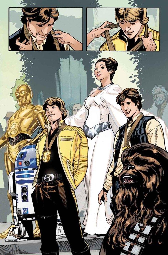 Princess Leia #1 , pagina 1