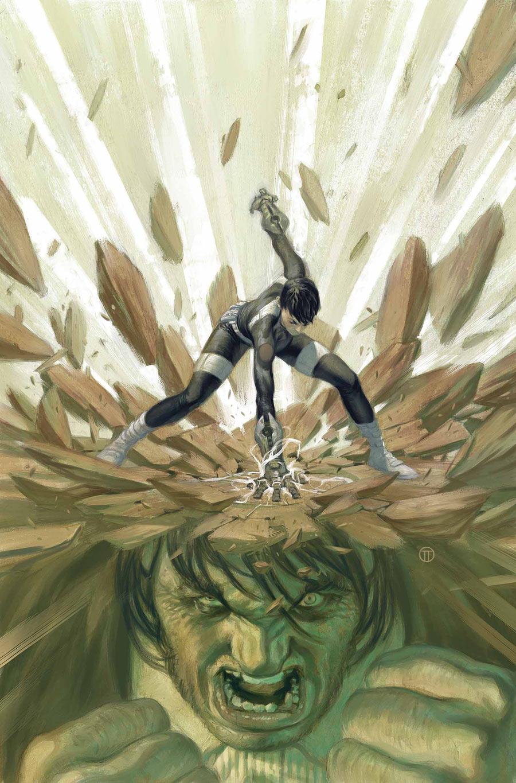 S.H.I.E.L.D. #7, copertina di Julian Totino Tedesco