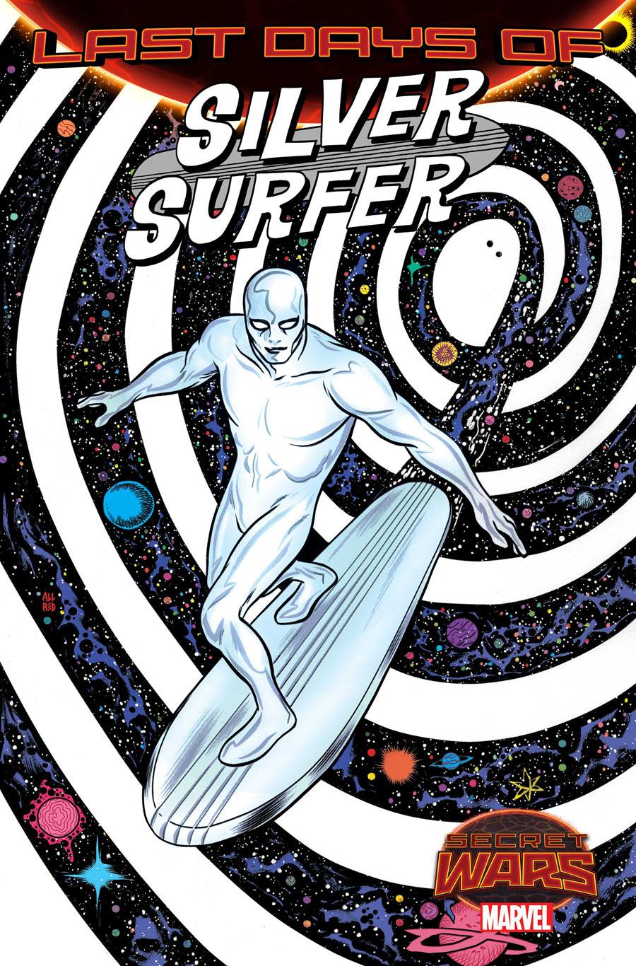 Silver Surfer #14, copertina di Mike Allred