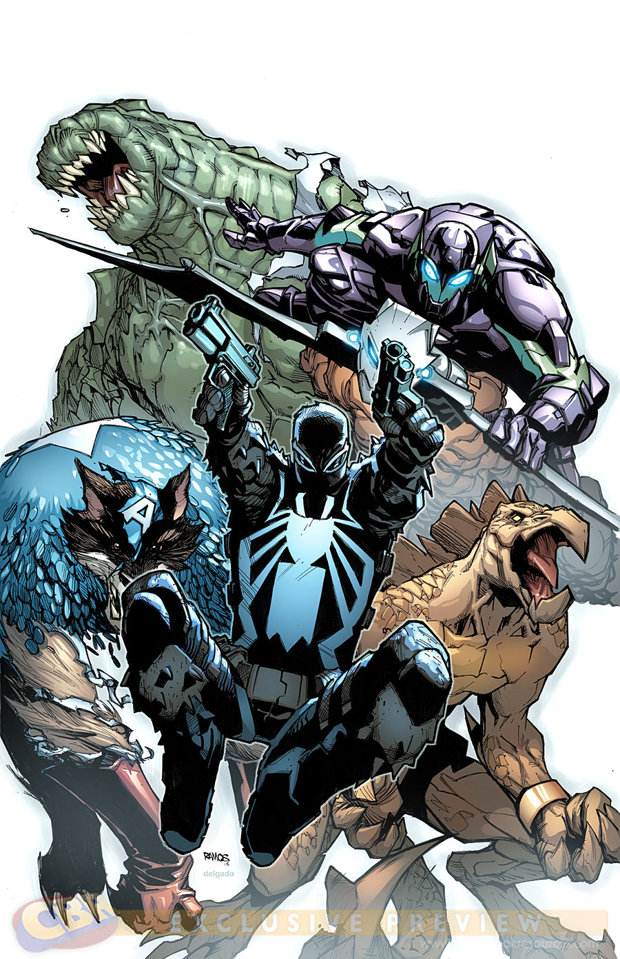Spider-Island #2, cover