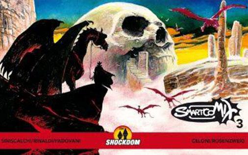 SmartCoMIX – Volume 3 - Copertina di Claudio Villa
