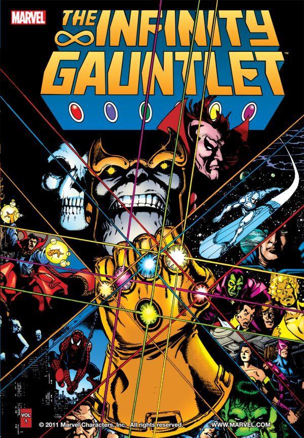 Infinity Gauntlet, copertina di George Perez