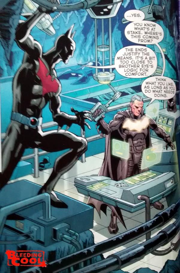 The New 52 Futures End #0 - Batman and Batman Beyond ...New 52 Batman Beyond