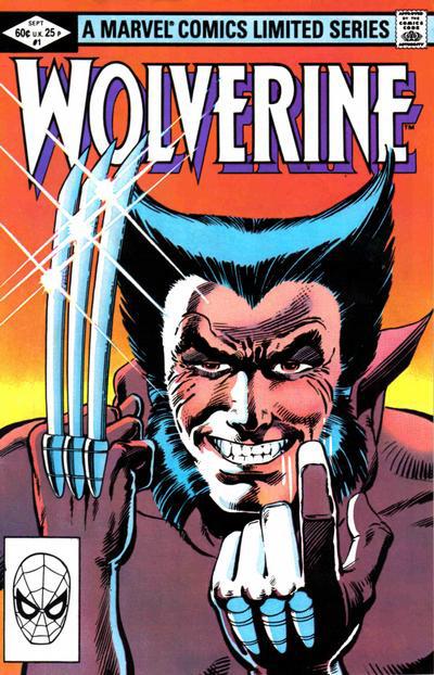 Wolverine #1, copertina di Frank Miller