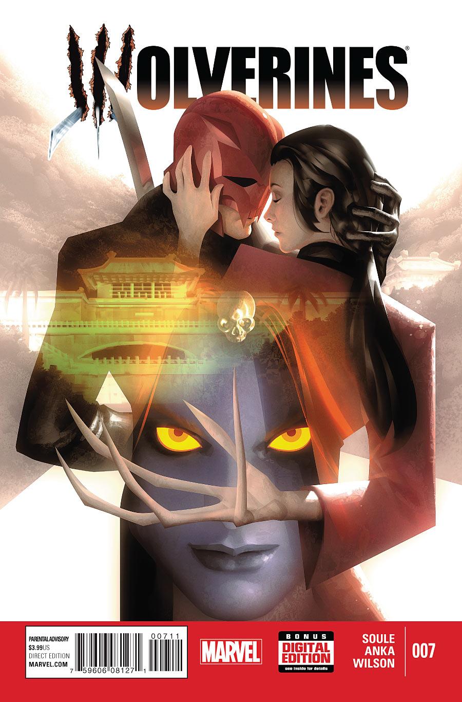 Wolverines #7 - copertina