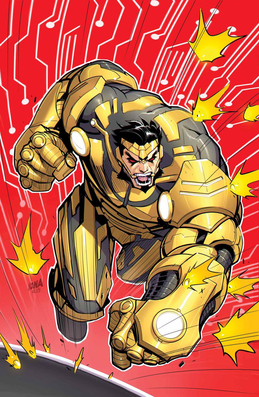 X-Tinction Agenda #3, copertina di David Nakayama