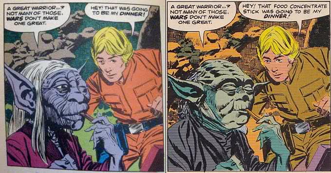 Yoda comparison