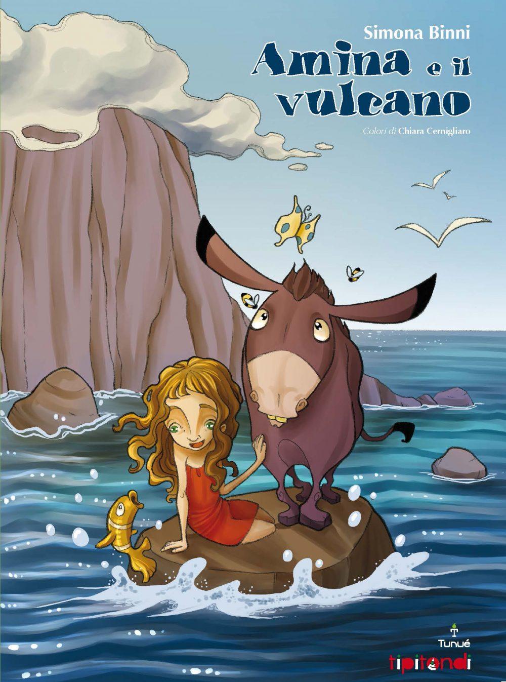 Amina e il vulcano cover