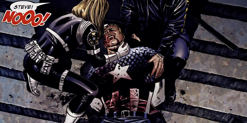 morte capitan america