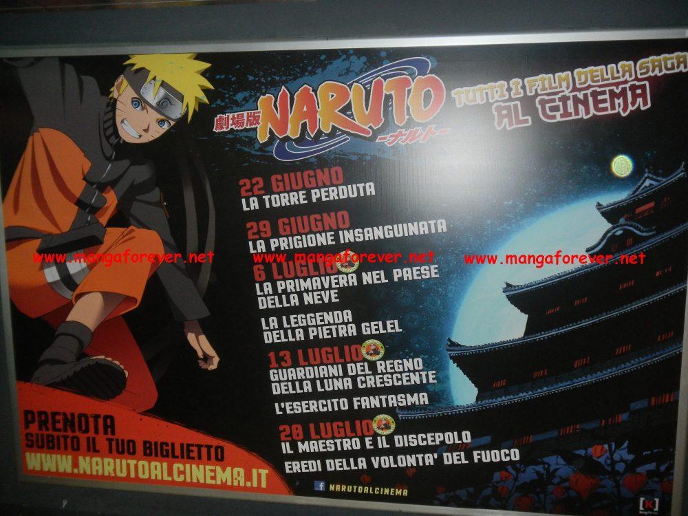 Naruto: tutta la saga cinematografica
