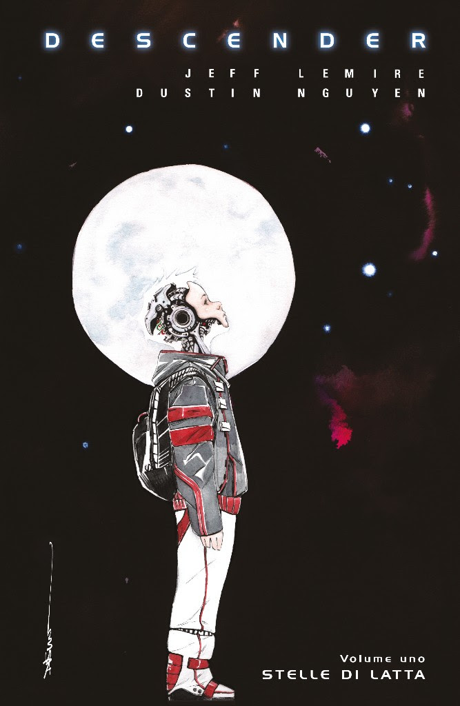 Descender vol. 1, copertina di Dustin Nguyen