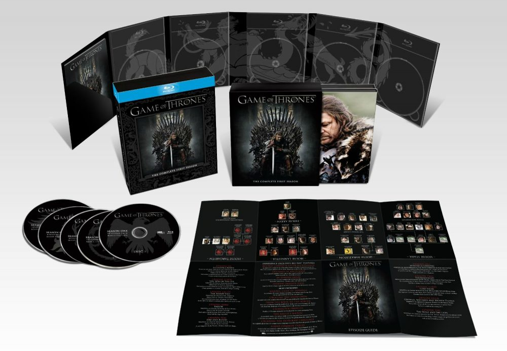 Game of Thrones - DVD e Blu-ray