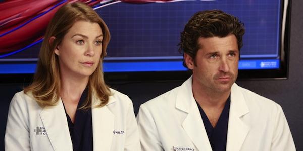 Meredith - Derek - greys anatomy