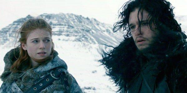 Jon Snow Ygritte Game of Thrones