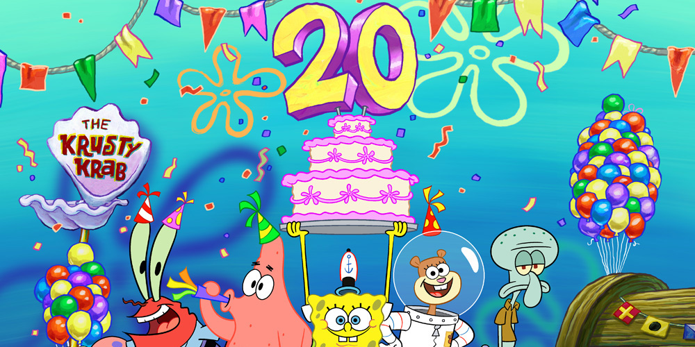 spongebob slide