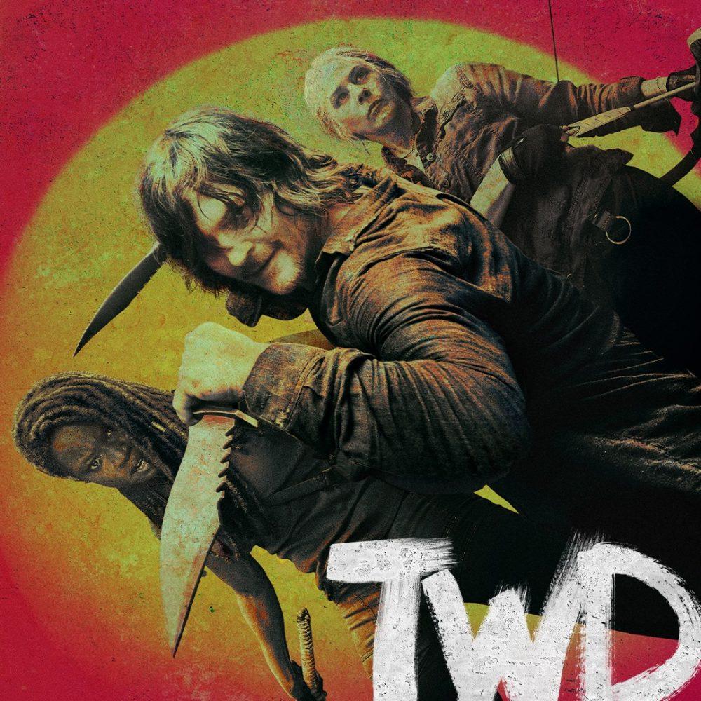 The Walking Dead 10 stagione key art