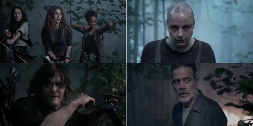 The Walking Dead promo decima stagione