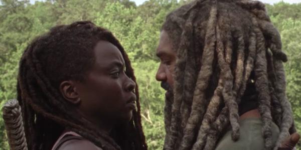 The Walking Dead Michonne Ezekiel