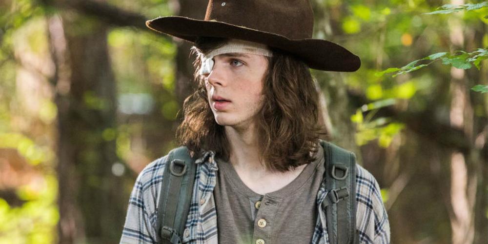 The Walking Dead Carl banner
