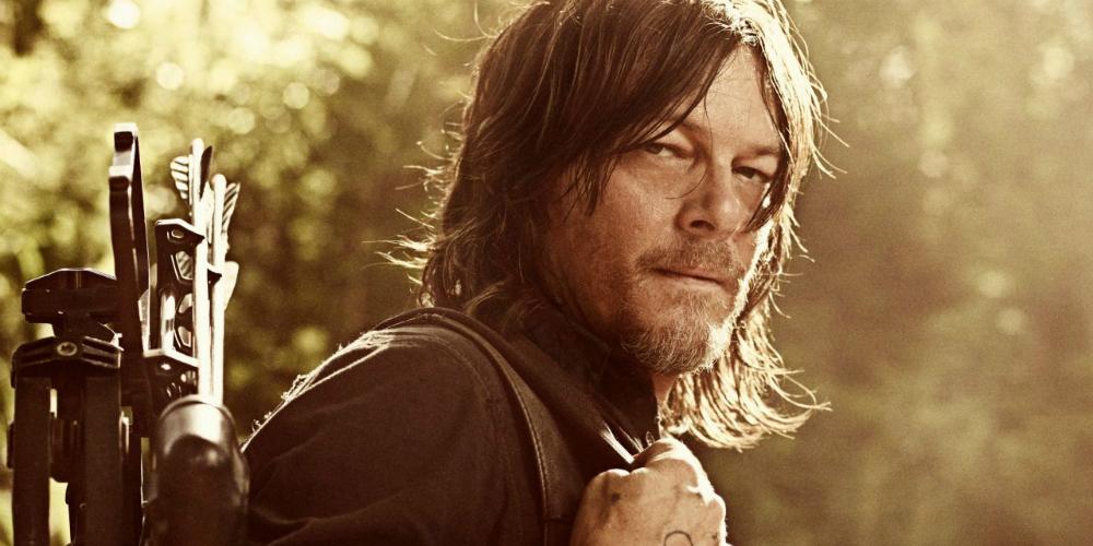 The Walking Dead Norman Reedus banner